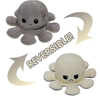 Flip Octopus Doll Double-sided Flip Doll Octopus Plush Toy