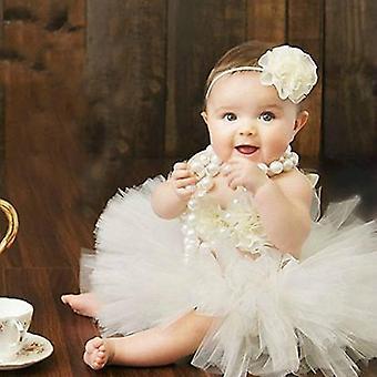 Baby Tutus Set Fancy Rüschen enthält Tutu Rock Stirnband und Top Neugeborene