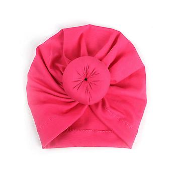 Cute Newborn Cotton Knotted Hat & Headwear