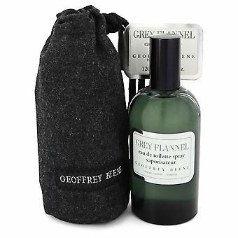 GREY FLANNEL by Geoffrey Beene Eau De Toilette Spray 4 oz / 120 ml (Men)