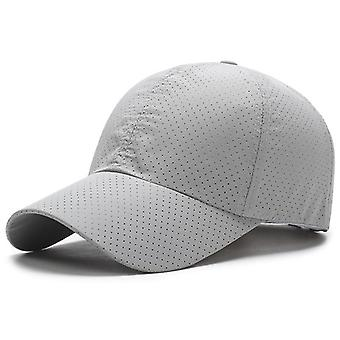 Outdoor Man, Woman Summer Quick-drying Mesh Hat, Visor Running Cap