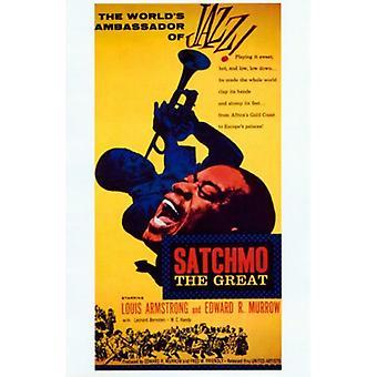 Satchmo stor filmen plakaten (11 x 17)