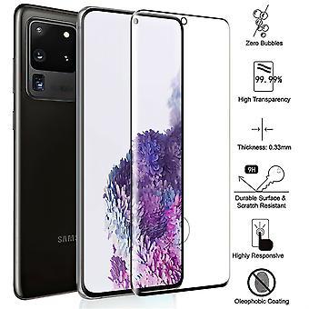 2 Pack Samsung Galaxy S20 Ultra - Gehärtetes Glas Bildschirm Schutz