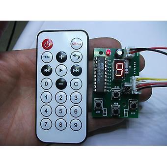 4 Controlador de fio, motor stepper - Velocidade ajustável com controle remoto