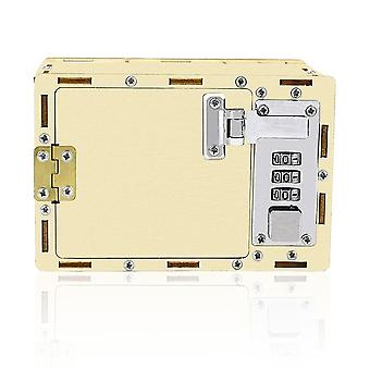 Mechanical Combination Lock Diy Model Kits Science