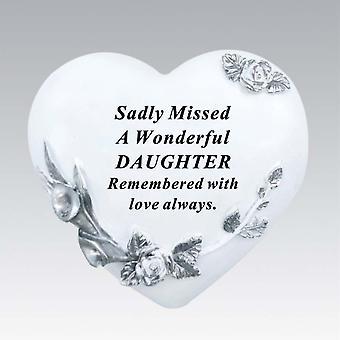 David Fischhoff Floral Heart - Daughter