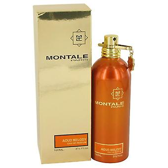 Montale Aoud melodía Eau De Parfum Spray (Unisex) por Montale 3.4 oz Eau De Parfum Spray