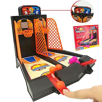Children's Toys Double Finger Ejection Basketball Court Board Game Parent-child Interactive Boy Desktop Educational Toy