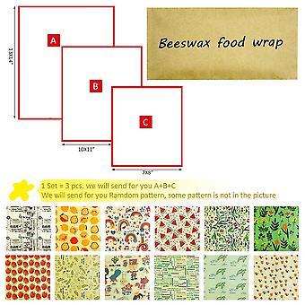 Zero Waste Reusable Storage Wrap ( Set 4)