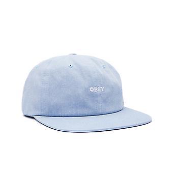 Unisex obey pigment hat 6 panel strapback 100580274.lbl