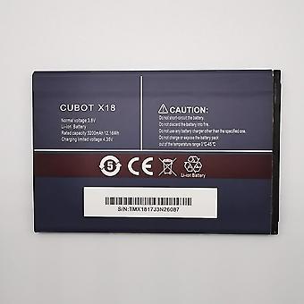 3200mah 3.8v Bateria de celular cubot x18 recarregável