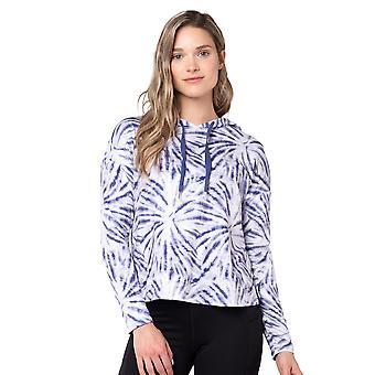 Womens Printed Moss Jersey Long Sleeve Hoodie