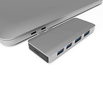 Hub 4k hd Dockingstation für Macbook Dual Typ-c