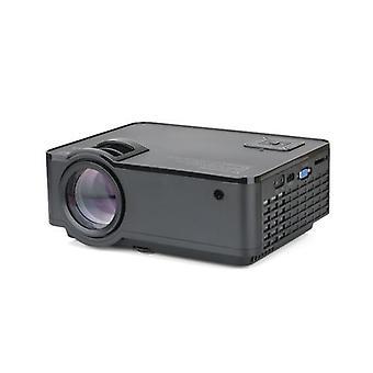 SD150 LCD-projektori LED 1080P Kotiteatteri 2400 Lumens 1000:1 Kontrastisuhde HD VGA USB -portilla