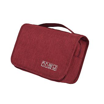 Hanging Travel Toiletry Bag With Handle