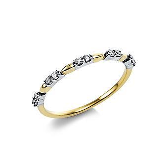 Luna Creation Promessa Ring Flera Sten Trim 1V562G454-1 - Ringbredd: 54