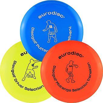 FengChun Disc Golf Frisbee Einsteiger Starter Set besonders hochwertig haltbar Selection Putter