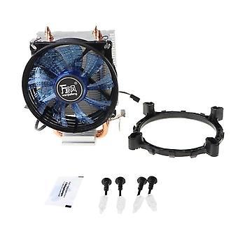Cpu Cooler Master, вентилятор тепловых труб с системой охлаждения Blue Light.