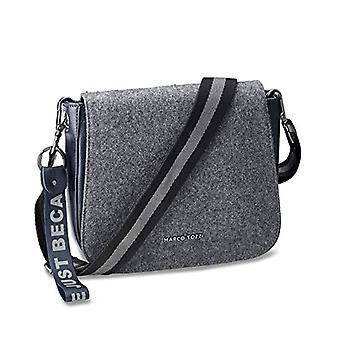 MARCO TOZZI Damen Handtasche 2-2-61036-25, 2-2-61036-25-Women's Bag, Grey/Navy, normal