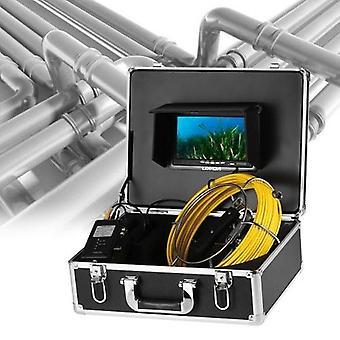 20m / 30m kabel avløp rør kloakk inspeksjon kamera