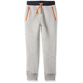 Brand - Spotted Zebra Boys' Zip-Pocket Fleece Jogger Pants