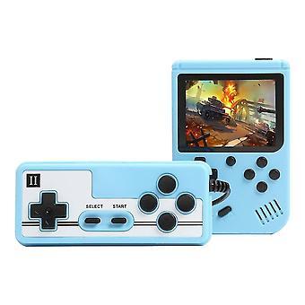 Μπλε 800 παιχνίδια μίνι ρετρό κονσόλα βίντεο χειρός παίκτες παιχνίδι cai764