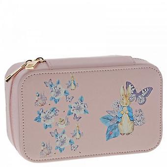 Peter Rabbit Garden Party Jewellery Box (pink)
