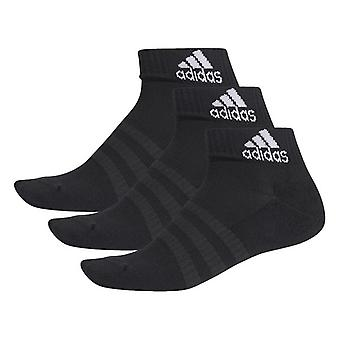 Sports Socks Adidas Cush Ank 3PP DZ9379 Children's Black Unisex