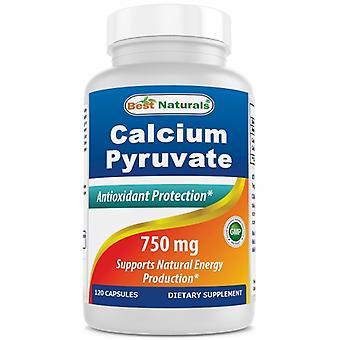 Best Naturals Calcium Pyruvate, 750 mg, 120 Caps
