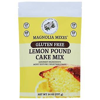 Magnolia Mixes Mix Cake Lemon Pound, Boîtier de 6 X 14 Oz