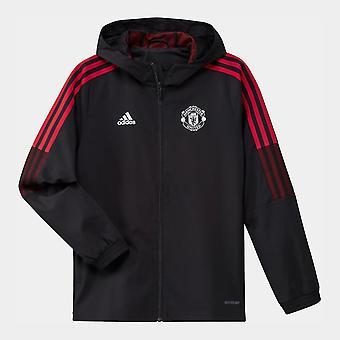 adidas Manchester United Presentation Jacket 2021 2022 Junior