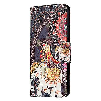 Xiaomi Mi 11 Lite Case Pattern Magnetic Protective Cover Totem Elephant