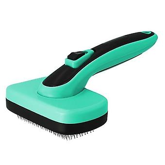 Pet  Automatic Hair Removal Brushes Open Knot Needle Combs Telescopic Sticky Bead Cleaning