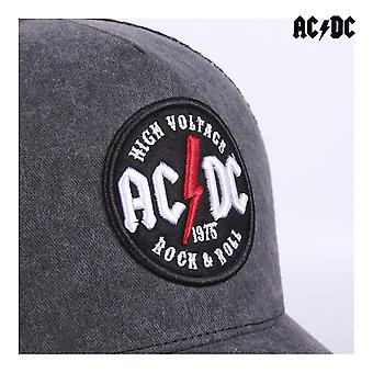 Hattu ACDC Rock & Roll Black (58 cm)