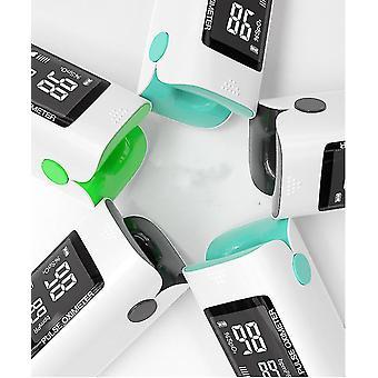Fingertip Pulse Oximeter Blood Oxygen Saturation Monitor(Black)