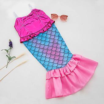Baby Girls Tail Mermaid Swimwear 130cm