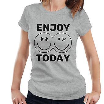 Smiley World Enjoy Today Women's T-Shirt