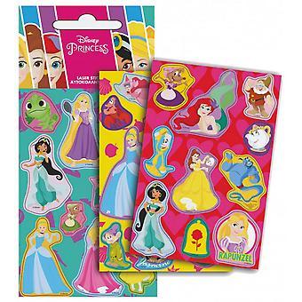 Disney Princesses 3 ark Hologram klistermärken