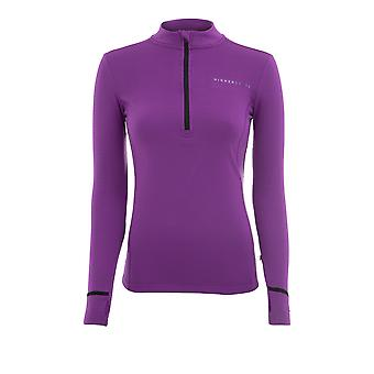 Superior State L/S 1/4 Zip Thermal Grid Women's Top - AW21