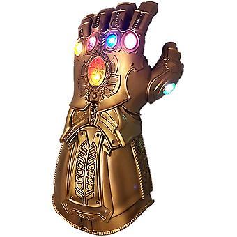 Thanos Infinity Kesztyű Led Gem Light Up Glove Bosszúállók Akciófigura Cosplay Kids Játék
