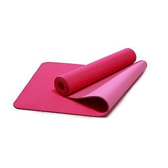 Yoga Mat Gymnastics Training Non Slip Pilates Fitness