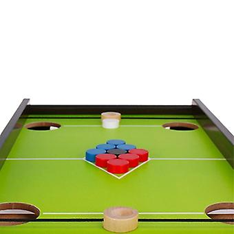Venalisa Holz Billard Billard Tisch Spiel Tisch Billard Spiel für Familie Eisball Tisch Spiel