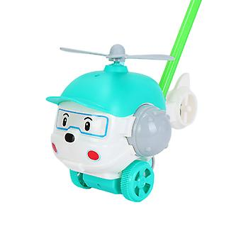 Baby Push Und Pull Spielzeug Lustiges hundeförmiges Flugzeug