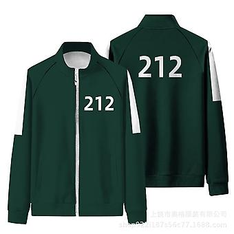 The Same Sports Green Jacket From Park Hae-soo And Squid Game