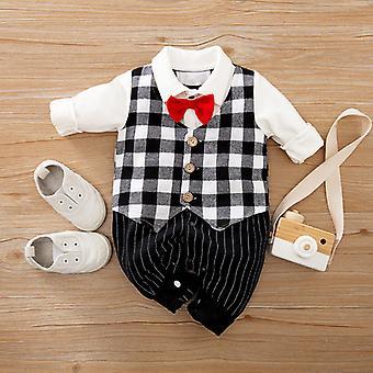 Baby Onesies Gentleman Baby Romper One-year-old Dress