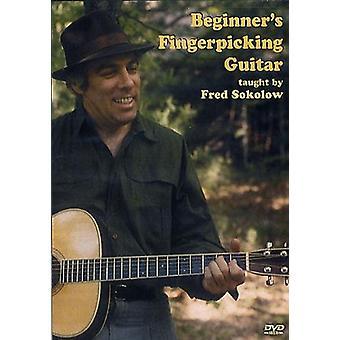 Fred Sokolow - importation USA Fingerpicking guitare [DVD] débutant