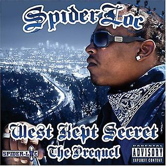 Spider Loc - West Kept Secret: The Prequel [CD] USA import