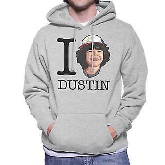 Fremde Dinge ich liebe Dustin Herren Sweatshirt mit Kapuze