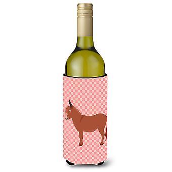 Irlannin aasi Pink tarkistaa viinipullo Beverge eriste Hugger