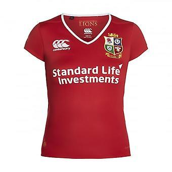 2016-2017 British & Irish Lions Home Pro Vapodri maglia da Rugby (donna)